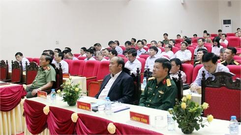 Tập huấn công tác phòng, chống khủng bố cho gần 200 người