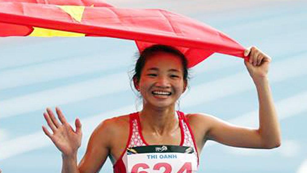 Giải vô địch điền kinh quốc gia 2017: Bắc Giang có HCV ngay trong ngày thi đấu đầu tiên