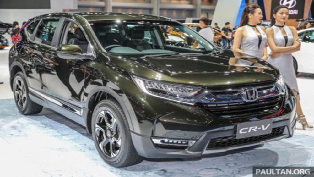 """Honda CR-V 7 chỗ sẽ """"cập bến"""" Việt Nam vào tháng 11-2017"""