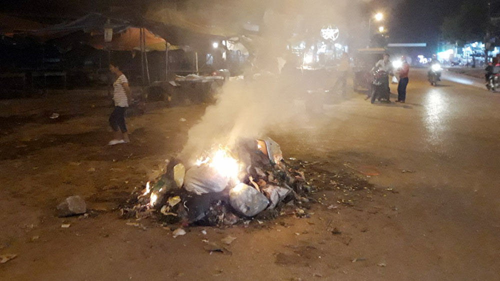 Thị trấn Cao Thượng (Tân Yên): Rác thải tồn lưu giảm một nửa