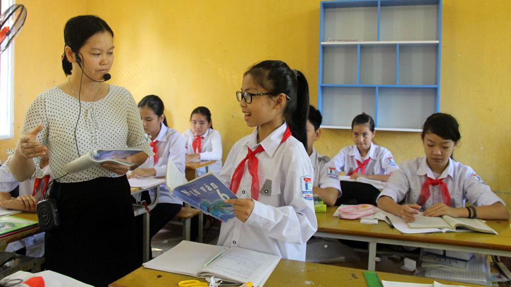 """TP Bắc Giang: Tăng """"chất"""" cho giáo dục ngoại thành"""