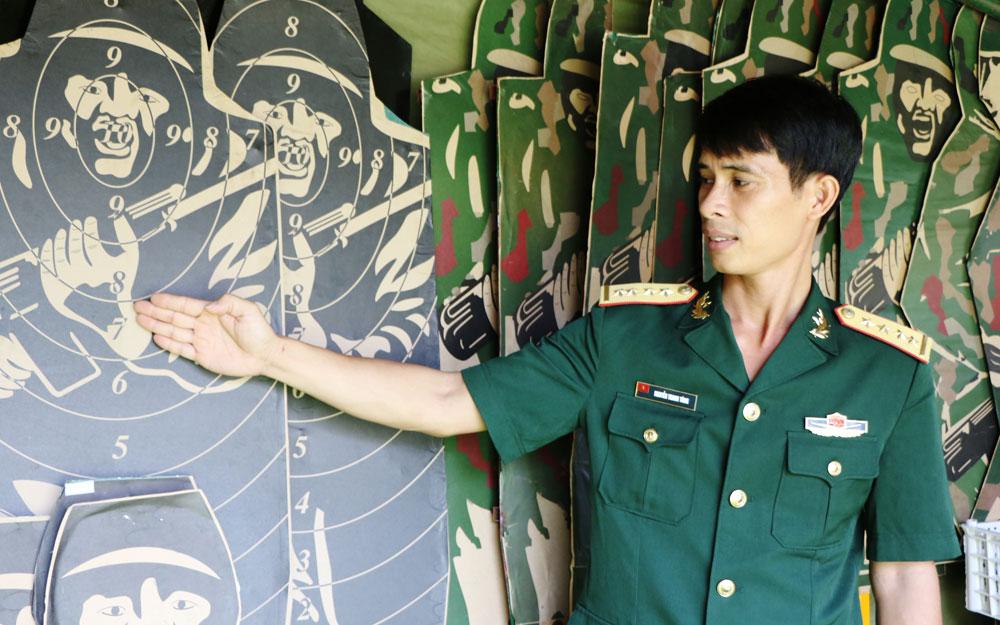 Đại úy Nguyễn Thanh Tùng: Huấn luyện giỏi, nhiều sáng kiến