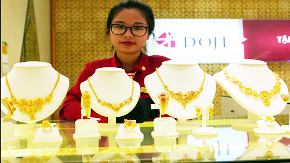 Giá vàng trong nước bật tăng đến 150 nghìn đồng mỗi lượng