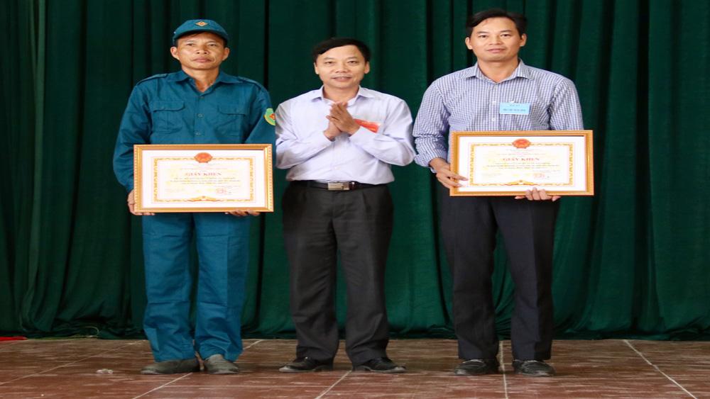 Diễn tập chiến đấu phòng thủ cụm xã Quảng Minh - Ninh Sơn