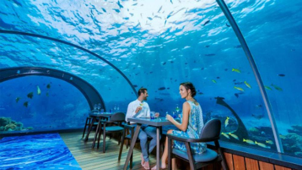 Nhà hàng dưới biển đầu tiên của châu Âu sắp xuất hiện