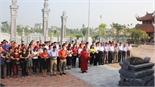 Gần 500 đại biểu dự Liên hoan thanh niên tiên tiến các tỉnh, TP phía Bắc