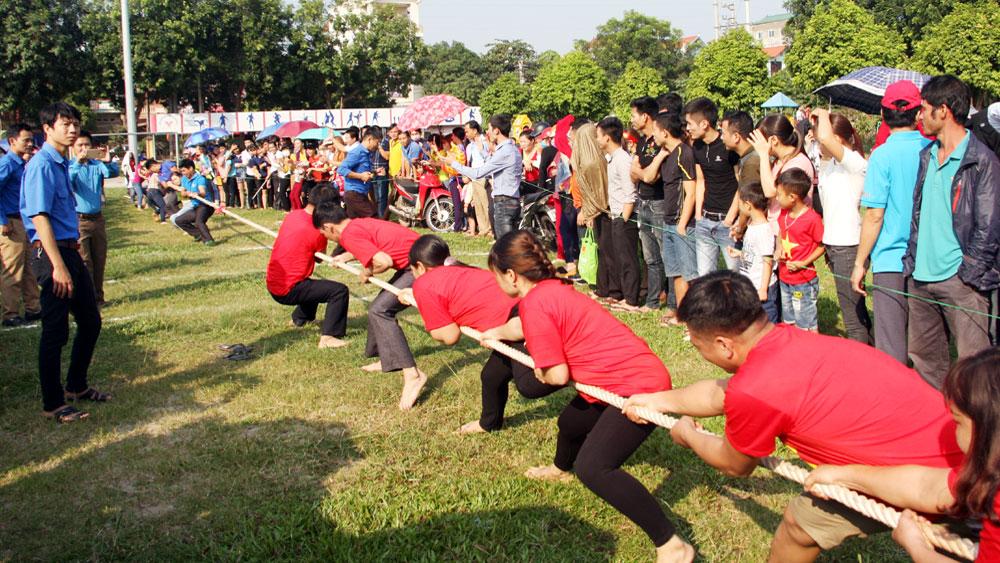 Tân Yên: Ngày hội văn hóa công nhân lao động