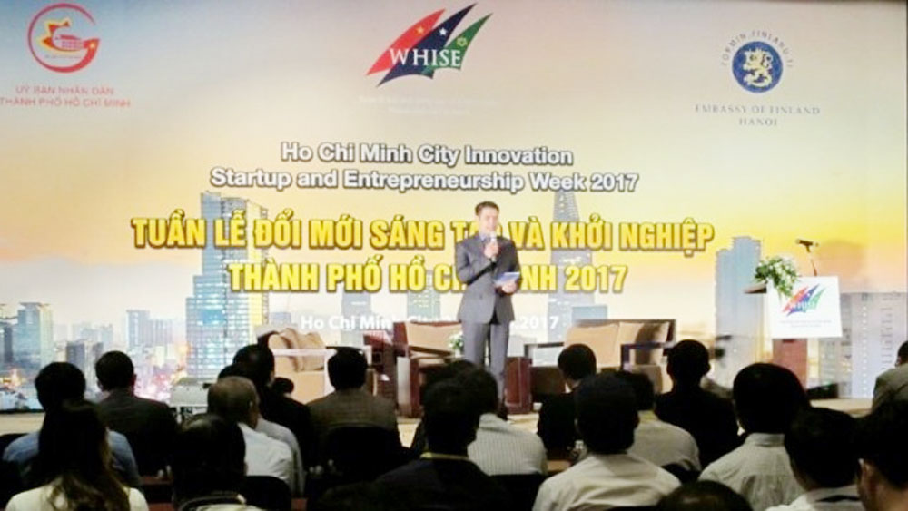 Start-up event, cooperation opportunities, HCM City, Finland, innovative start-up conference, Ho Chi Minh City, innovation ecosystem