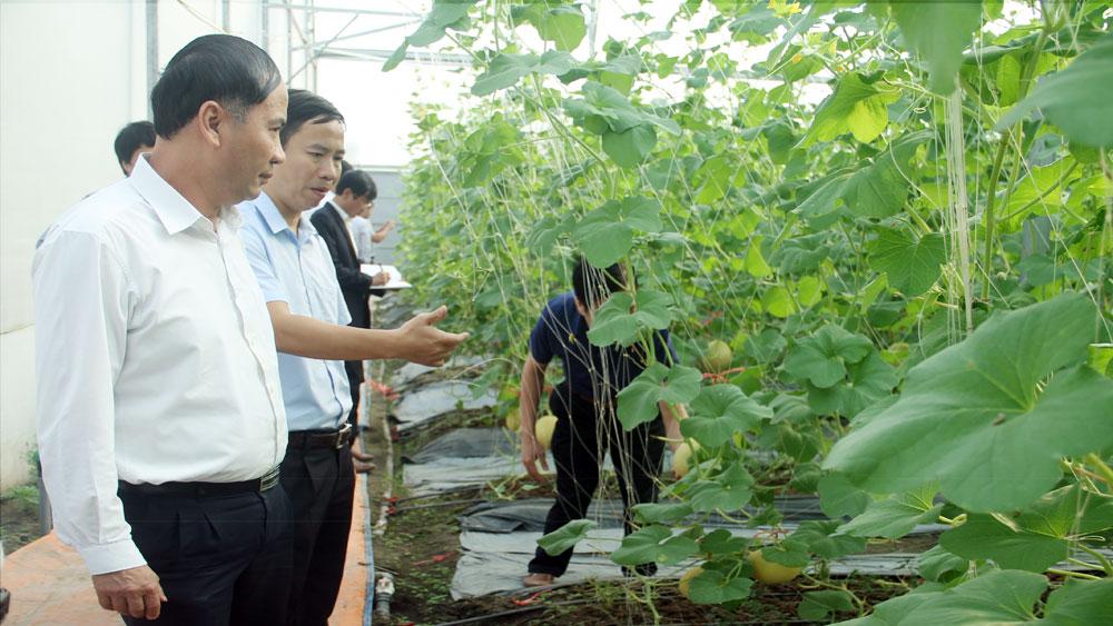 Đoàn công tác tỉnh Sơn La trao đổi kinh nghiệm sản xuất nông nghiệp ứng dụng CNC tại Bắc Giang