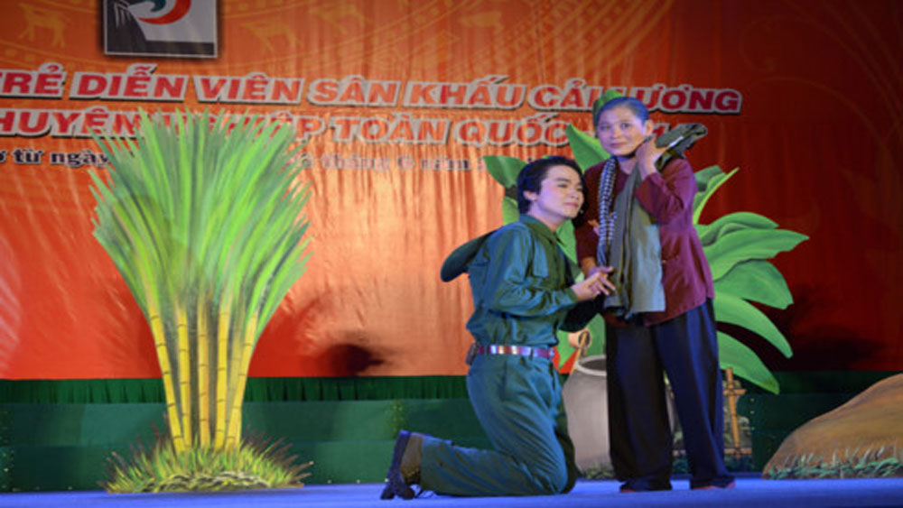 Khởi động cuộc thi tài năng trẻ lĩnh vực sân khấu 2017