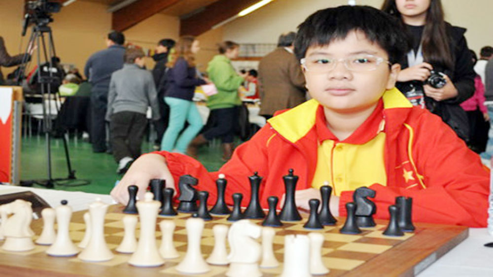 Anh Khoi crowned world U16 blitz champion