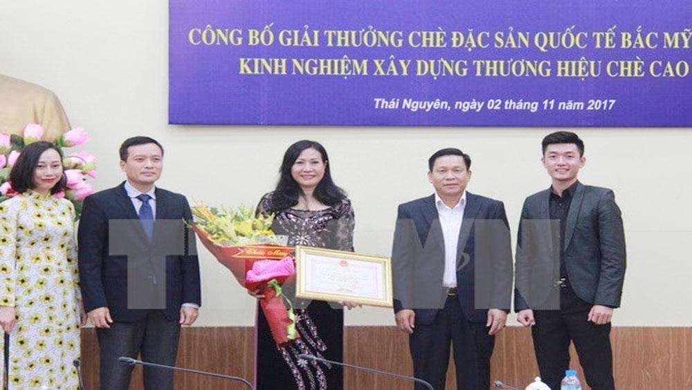 Thai Nguyen tea honoured at North America tea competition 2017
