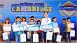 Hơn 400 học sinh tham dự cuộc thi vô địch Tiếng Anh Cambridge