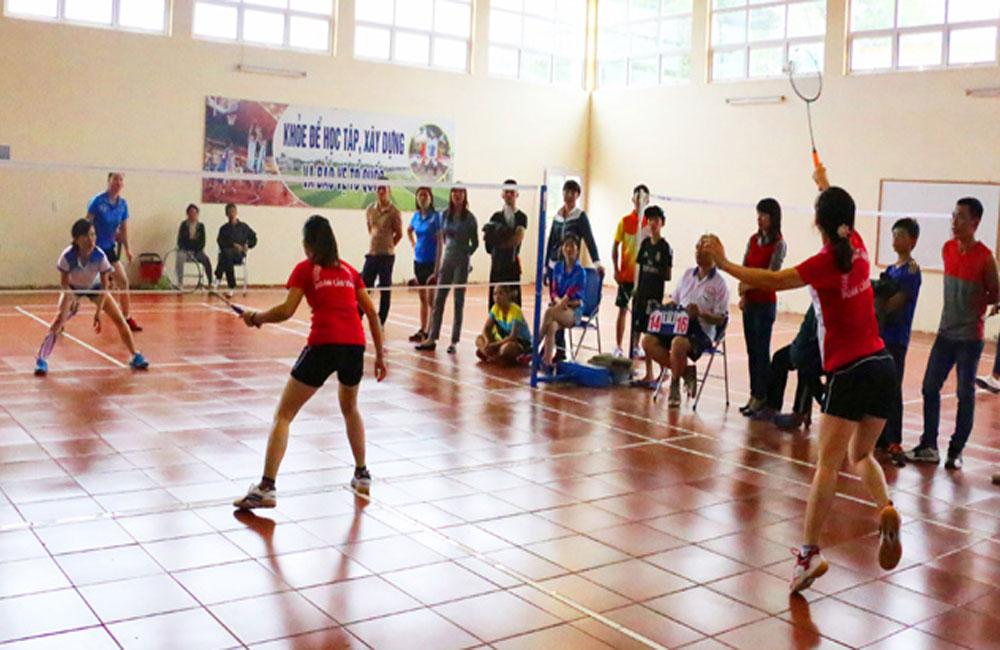 Chung kết Giải cầu lông công nhân viên chức, người lao động ngành giáo dục