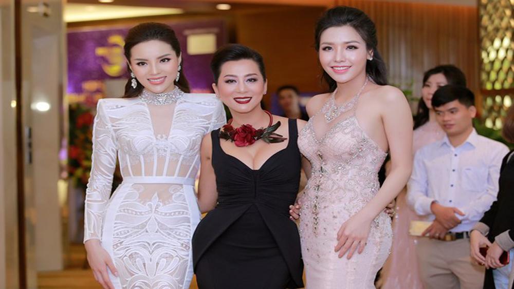 Hai người đẹp Kỳ Duyên cùng đồng hành cuộc thi Hoa hậu Biển Việt Nam toàn cầu