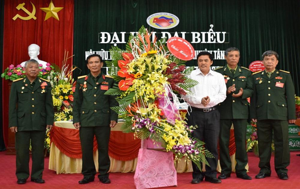 Đại hội đại biểu Hội Hữu nghị Việt Nam - Campuchia huyện Tân Yên lần thứ II
