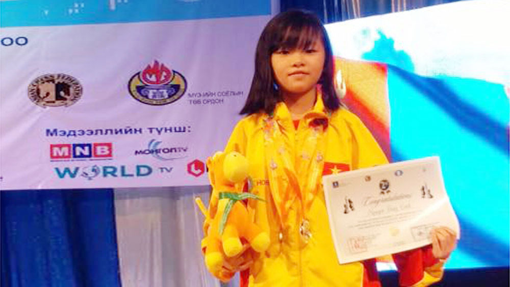 Nguyen Thuy Linh –Little chess talent