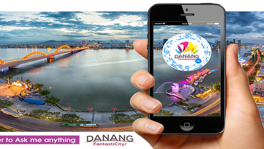 Da Nang, Chatbot, smart travel, APEC 2017, FanstatiCity, all-in-one application, full travel information, local weather, road directions, Messenger Code, helpful channel