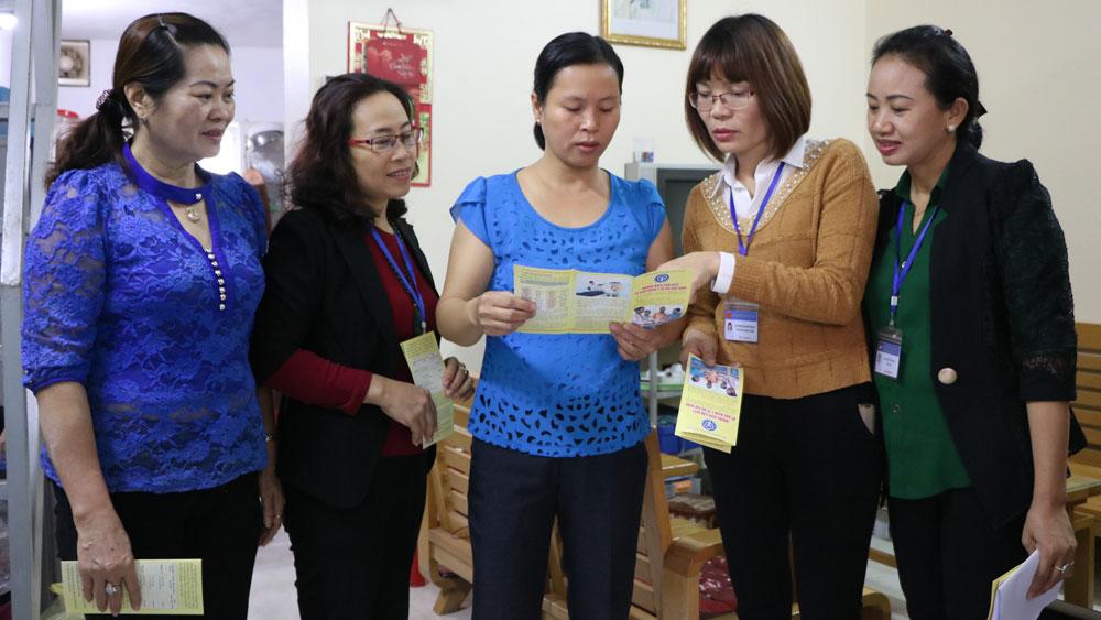 Phường Hoàng Văn Thụ - Dẫn đầu tỉnh về tỷ lệ người dân tham gia BHYT