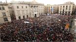 Đường phố Barcelona tắc nghẽn nghiêm trọng vì biểu tình đòi độc lập