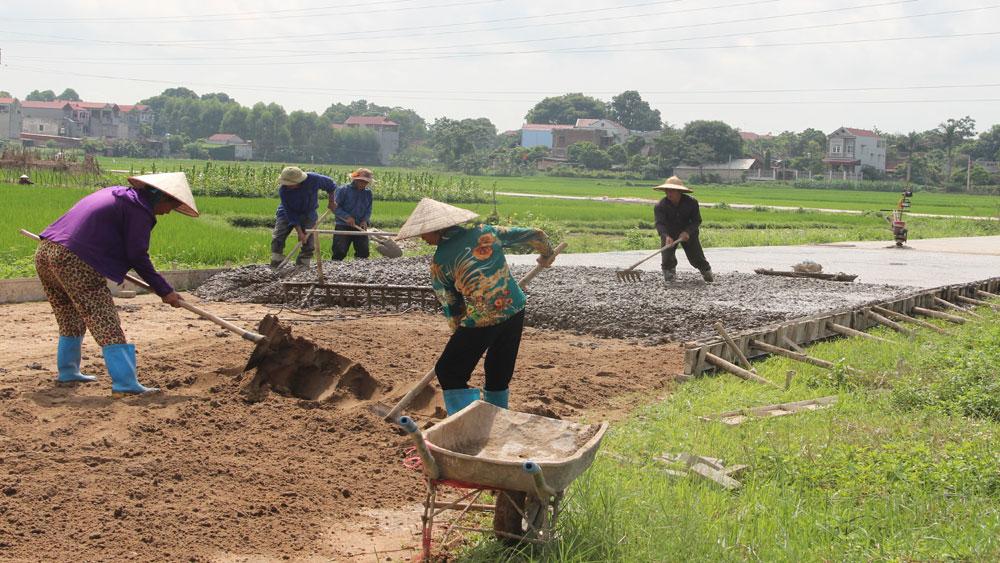 Xã Đại Lâm hoàn thành các tiêu chí về nông thôn mới