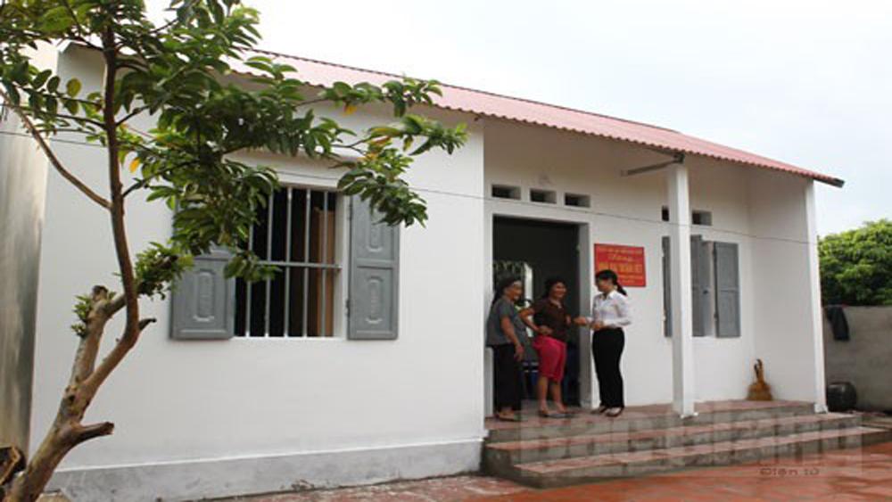 Lục Nam: 438 hộ nghèo còn khó khăn về nhà ở