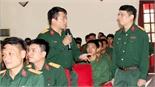 Trường Quân sự (Quân đoàn 2) tuyên truyền tác hại của thuốc lá