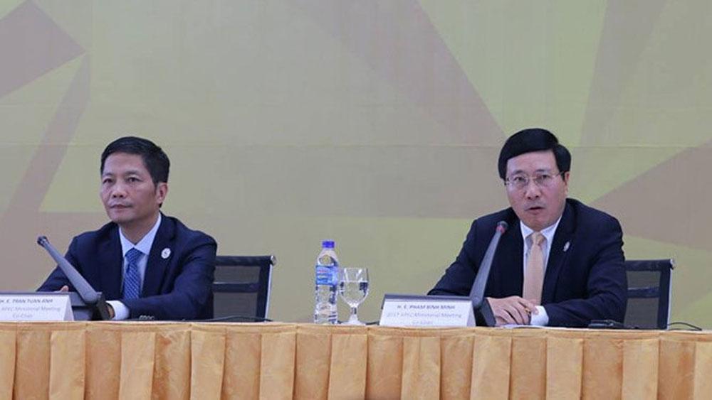 APEC 2017: Ministers adopt four initiatives