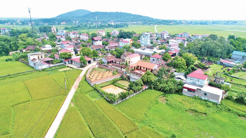 Vóc dáng nông thôn mới Quang Minh