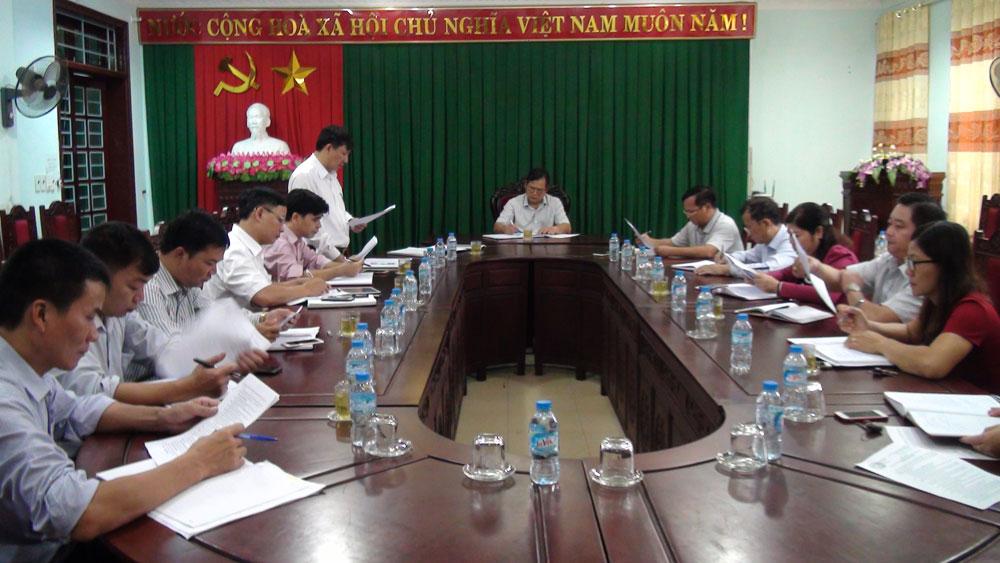 Hội nghị liên tịch chuẩn bị kỳ họp thứ 7, HĐND huyện khóa XXI