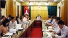 Thẩm định, thẩm tra một số nội dung trình Ban Thường vụ Tỉnh ủy và kỳ họp thứ 4, HĐND tỉnh Bắc Giang khóa XVIII