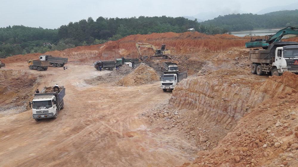 Đề nghị bổ sung quy hoạch vùng nguyên liệu đất san lấp mặt bằng và sản xuất gạch ngói