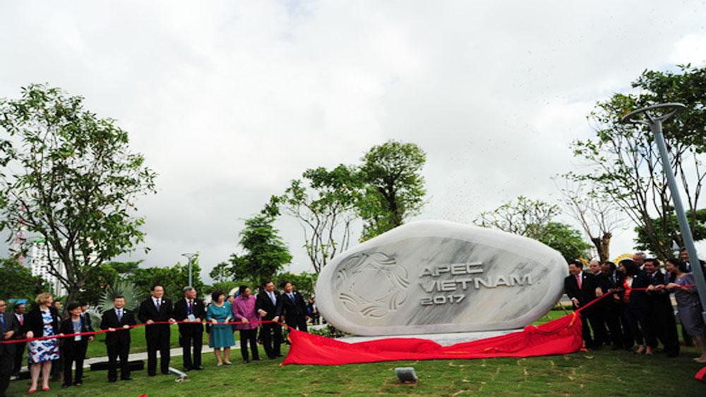 APEC 2017: Park featuring APEC economies' symbols opens in Da Nang