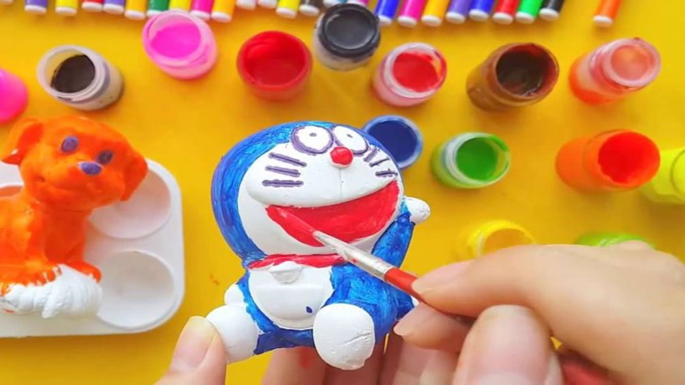 Trẻ dễ nhiễm độc chì từ màu vẽ, tô tượng