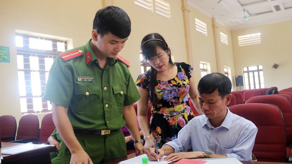 Bắc Giang chưa triển khai làm thẻ căn cước công dân