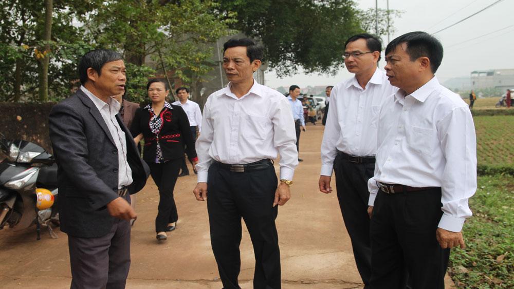 Xã Đại Lâm- Điển hình trong  phong trào làm đường GTNT ở Lạng Giang