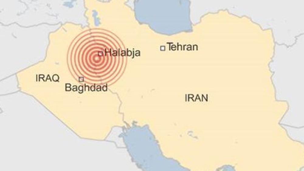 Động đất 7,3 độ ở biên giới Iran - Iraq, ít nhất 61 người chết
