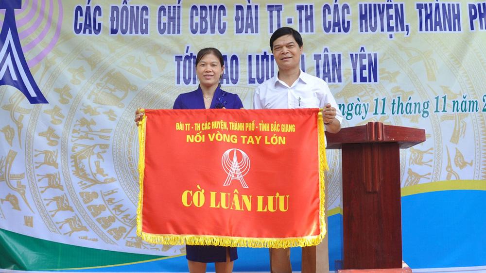 Đài Truyền thanh, Truyền hình các huyện, thành phố giao lưu tại Tân Yên