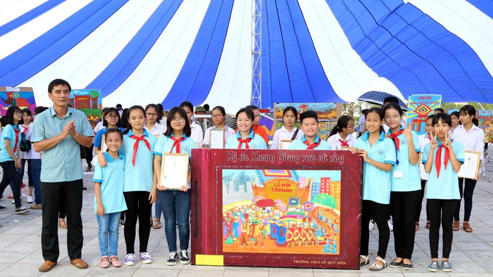TP Bắc Giang: Hội thi Tuyên truyền giới thiệu sách năm 2017