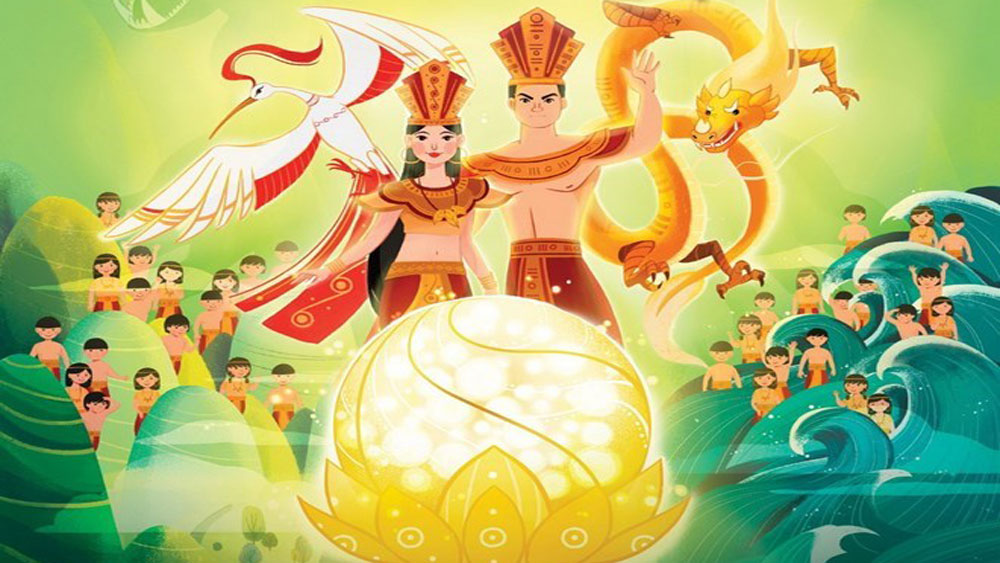 Cartoon on Vietnam's origin story a viral hit