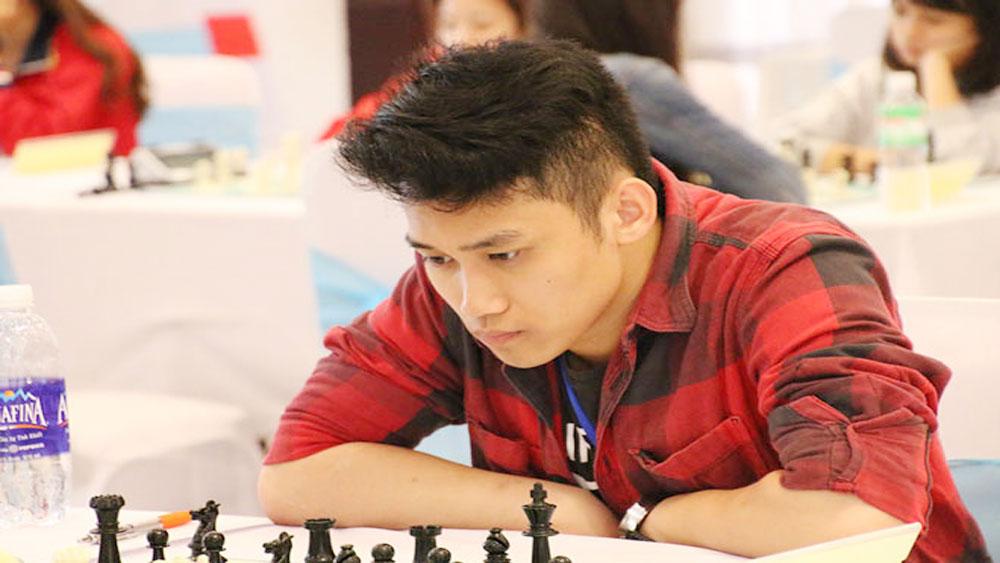 Master Minh wins first match at world junior tournament