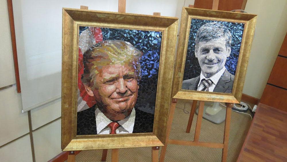 Exhibition features portraits of APEC economic leaders