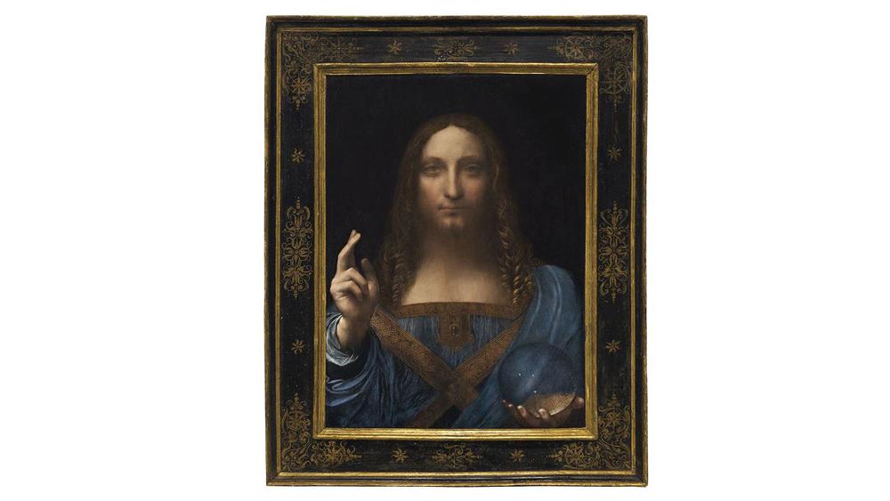 Tranh của Leonardo da Vinci đắt nhất trong lịch sử đấu giá