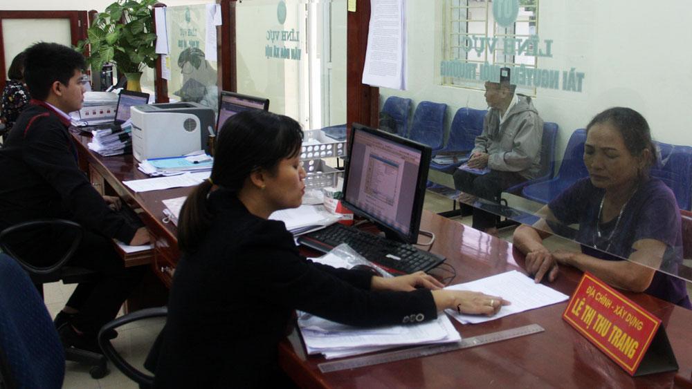 Bước chuyển trong cải cách hành chính