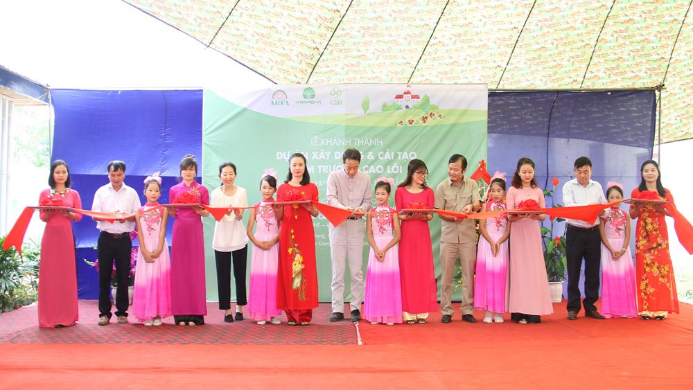 Khánh thành điểm lẻ Trường tiểu học Ninh Sơn