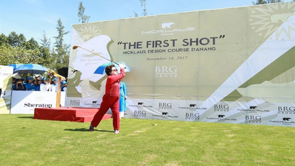 APGS golf summit opens in central Da Nang city