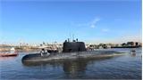 Tàu ngầm Argentina cùng 44 thành viên mất tích tại Đại Tây Dương