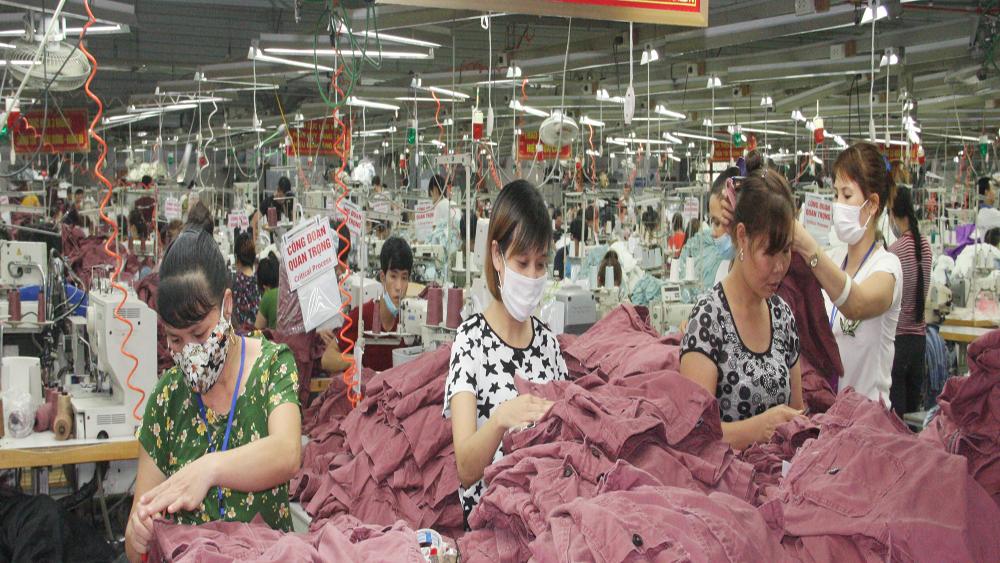 2,4 vạn lao động làm việc tại các doanh nghiệp trên địa bàn