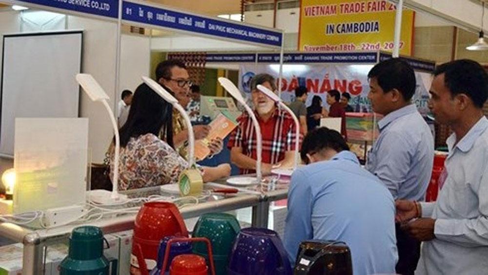 Trade fair to enhance Vietnam – Cambodia trade cooperation