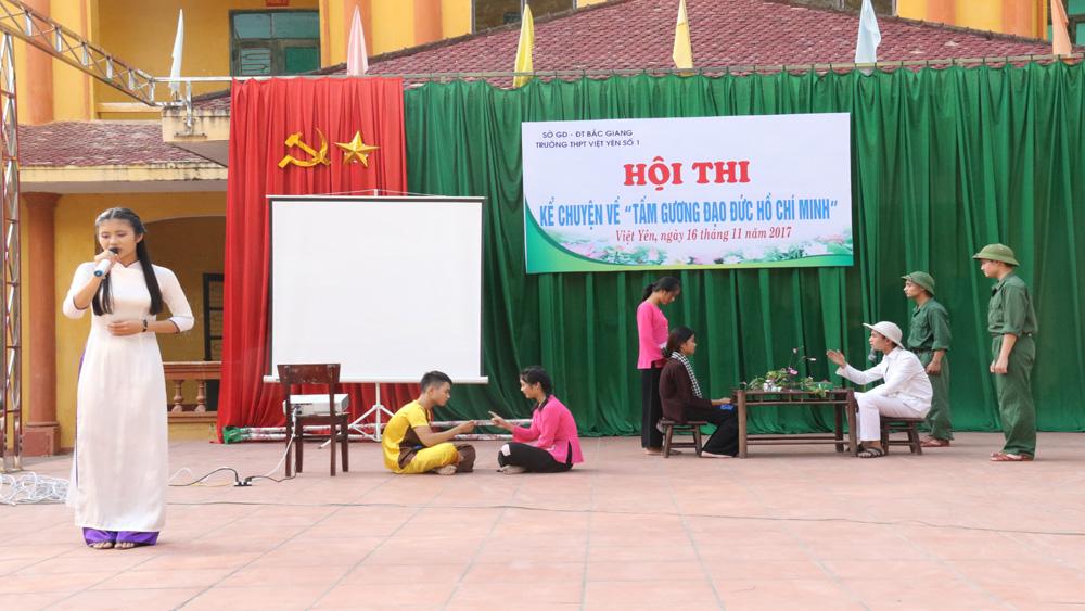 """Thi kể chuyện về """"Tấm gương đạo đức Hồ Chí Minh"""""""